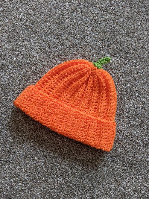 Handmade Pumpkin Hat
