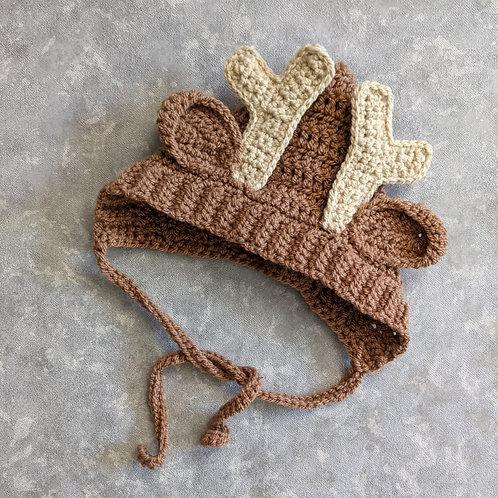 Reindeer Pixie Bonnet