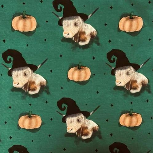Highland Cows and Pumpkins Romper