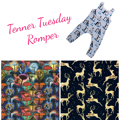 TENNER TUESDAY Romper 2 - 4 years