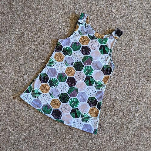 Botanical Hexagon Romper