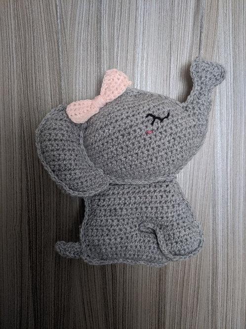 3D Elephant wall hanging