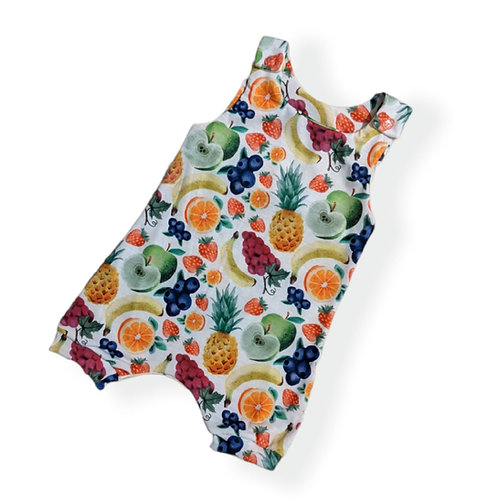 Watercolour fruits Romper