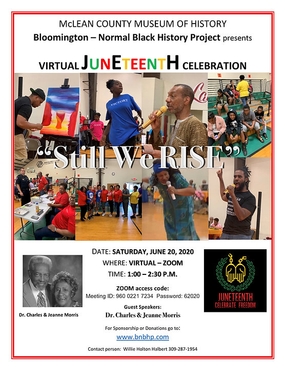 Juneteenth Celebration 2020  flyer FINAL