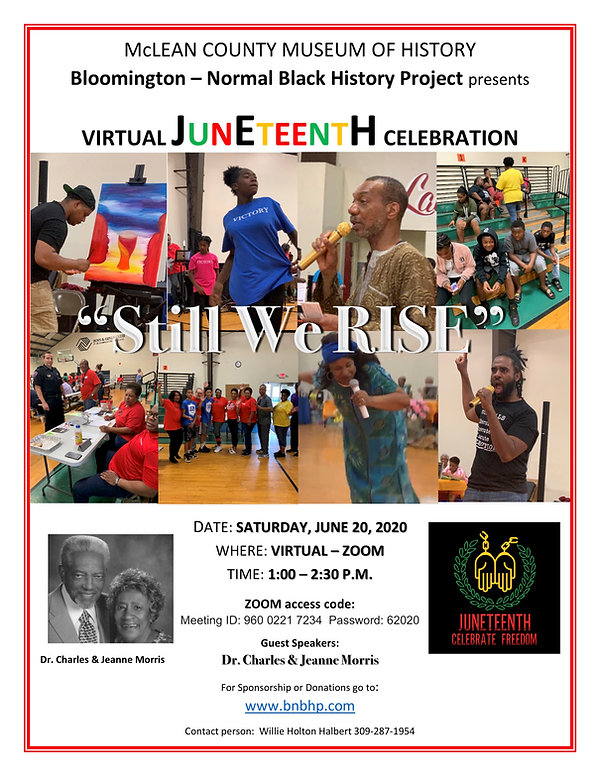 Juneteenth Celebration 2020  flyer FINAL