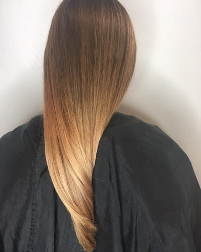 Golden balayage/ ombre