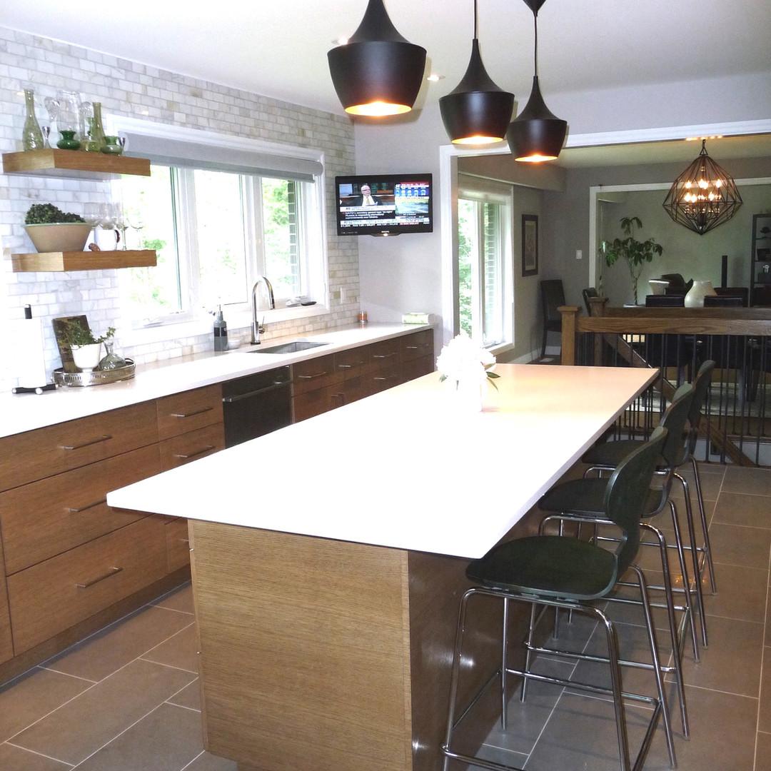 Modern kitchen renovation
