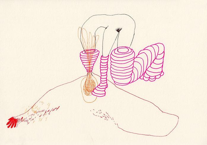 Zeichnung  ⓒ Klaudia Stoll 2012