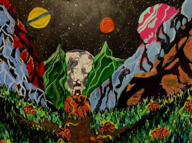 Katie Ferran, Solitude, Painting, 2021