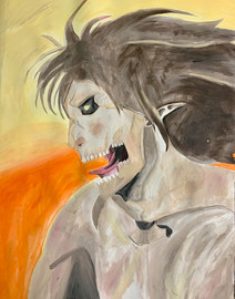 Sofie Mater, Eren, Water Color Painting, 2021