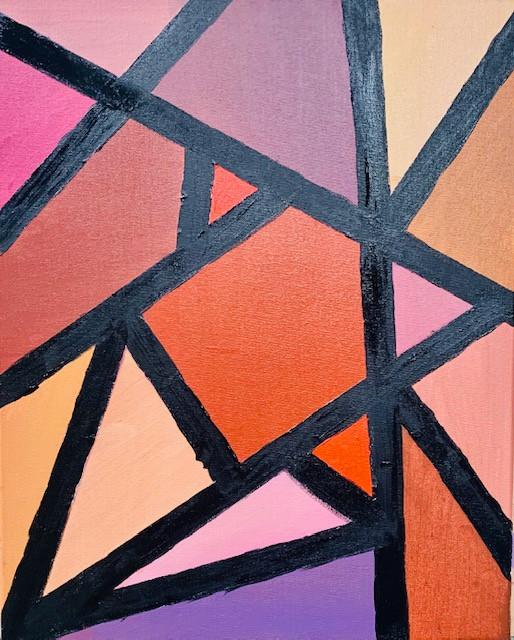 Eleanor Allen, Triangle Precision, Painting, 2021