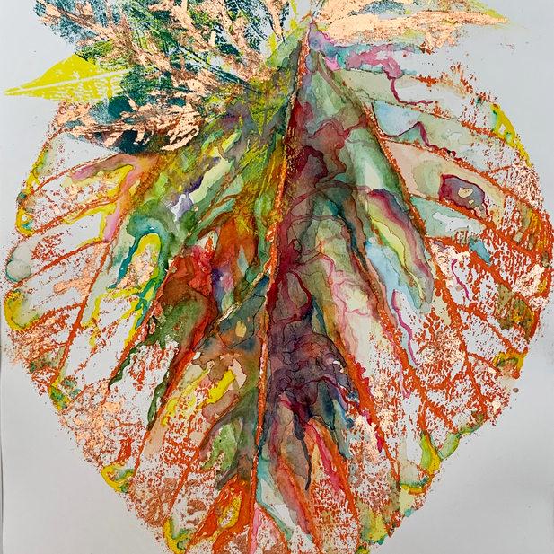 Elizabeth Reed Holman, Fallen Leaves