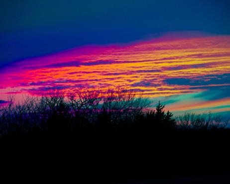Makayla Faulkner,  Heart of Sunset, 2021