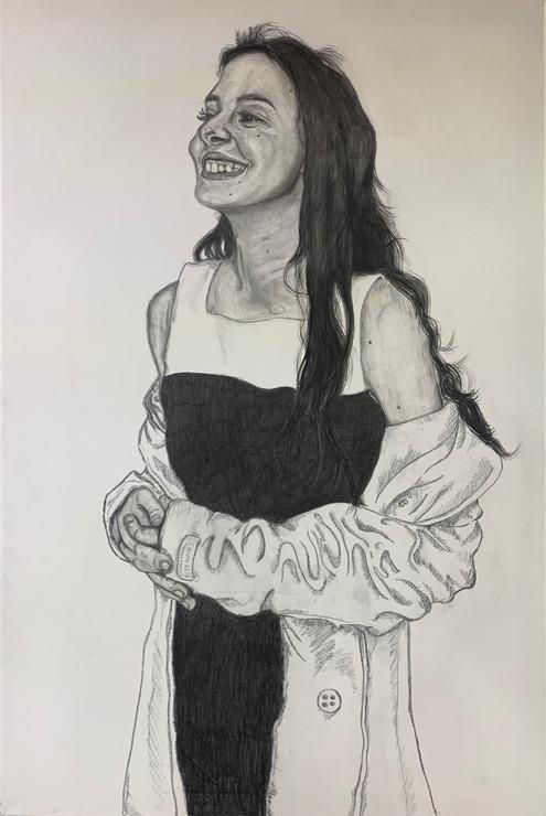 Faith Stout , Self Portrait 01, Drawing, 2021