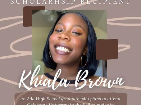 2021 Eleanor Wight Scholarship Recipient