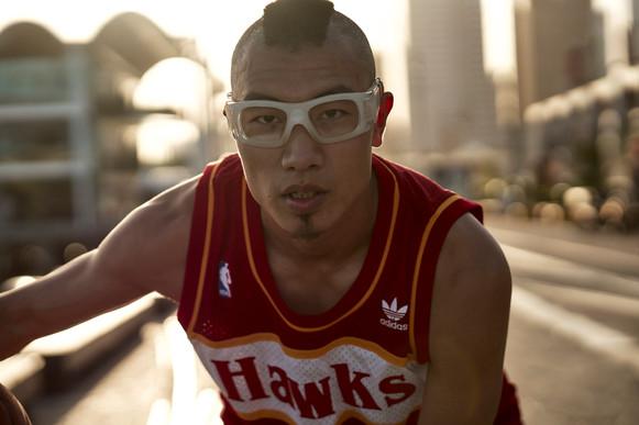 YiFan (Basketballer) with Dan Max (Photographer)