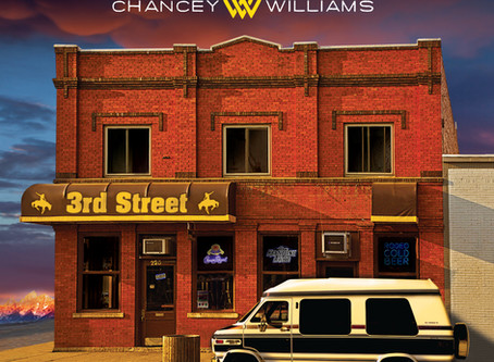 "WME ARTIST CHANCEY WILLIAMS' ""3RD STREET""ALBUM DEBUTS AT NO. 5 ON ITUNES COUNTRY ALBUMS CHART MAY 22"