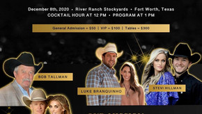 LEGACY OF THE WEST GALA CO-HOSTED BY TY & PAIGE MURRAY SET FOR FORT WORTH DURING NFR