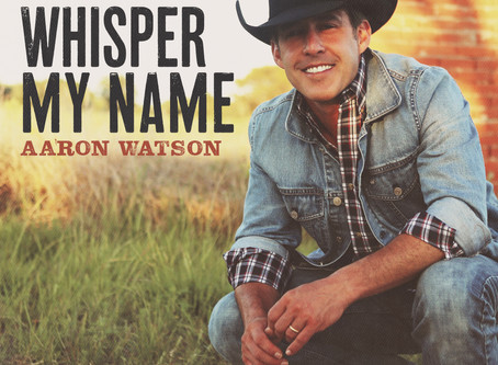 "TEXAS COWBOY HALL OF FAMER AARON WATSON MAKES RESOUNDING DEBUT WITH NEW SINGLE ""WHISPER MY NAME"""