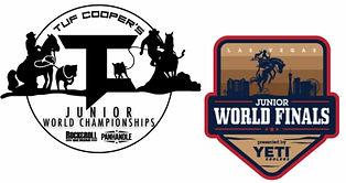Tuf Cooper with Junior World Finals Logo