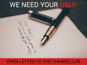 SHOW YOUR SUPPORT: LETTER TO CHANCELLOR