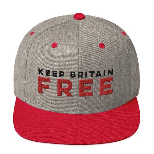 KBF 2 tone snapback cap