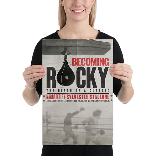 Becoming Rocky: The Birth of a Classic Official Poster