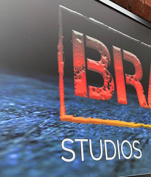Image of branded studios main signage