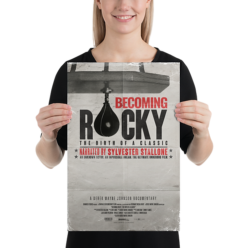 Becoming Rocky: The Birth of a Classic Official Movie Poster