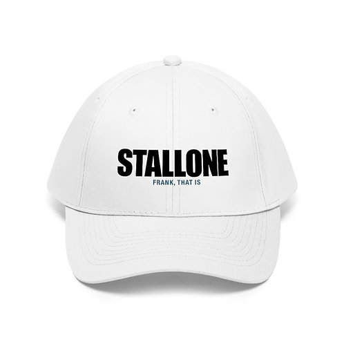 Stallone: Frank, that is Twill Cap