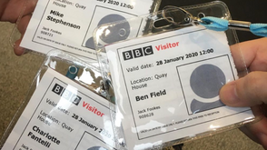 Branded Studios At The BBC