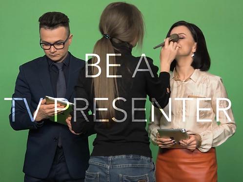 be a TV presenter course