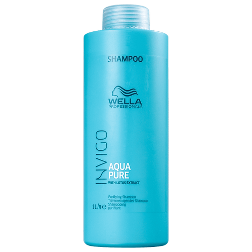 Shampoo Wella Professionals Invigo Balance Acqua Pure -  Antirresíduos 1000ml