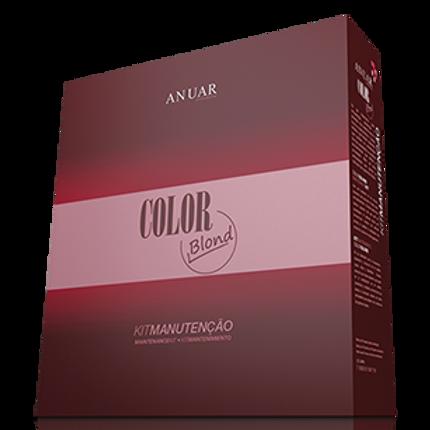Kit Anuar Manutenção Blond (3 produtos) 900g