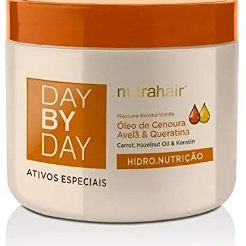 Máscara Day By Day Oléo De Cenoura E Queratina 500gr - Nutra Hair