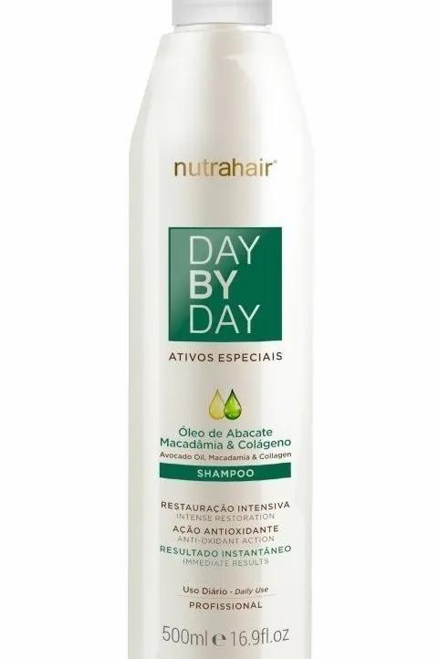 Shampoo Day By Day Óleo De Abacate 500ml - Nutra Hair