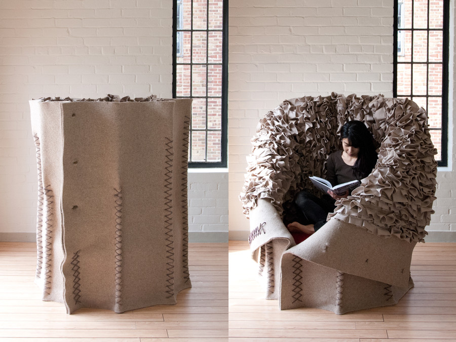 Button Up Chair