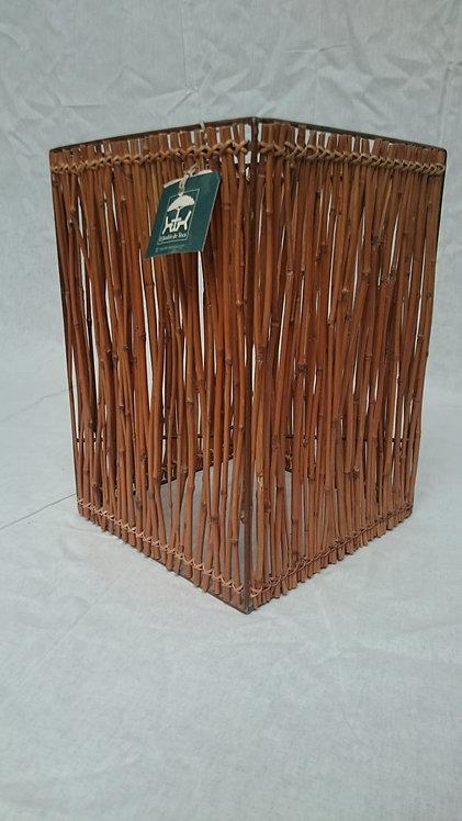 Porta lámpara/vela Bambú