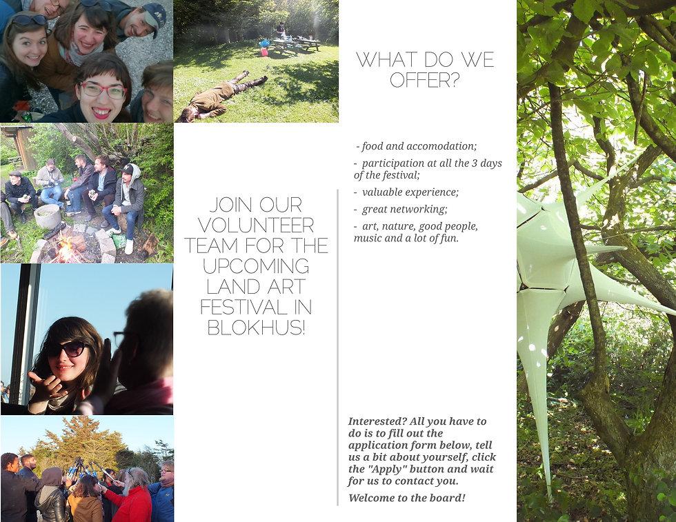 Volunteer for LAND-SHAPE festival