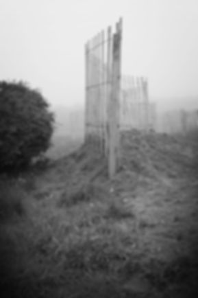 """Flow"", experimental Land Art work by Karin Westermark for LAND-SHAPE Festival, Hanstholm 2015. Photo: Morten Barker"