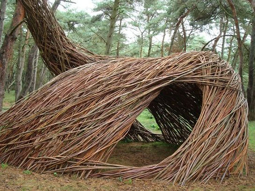 Land Art work by Will Beckers