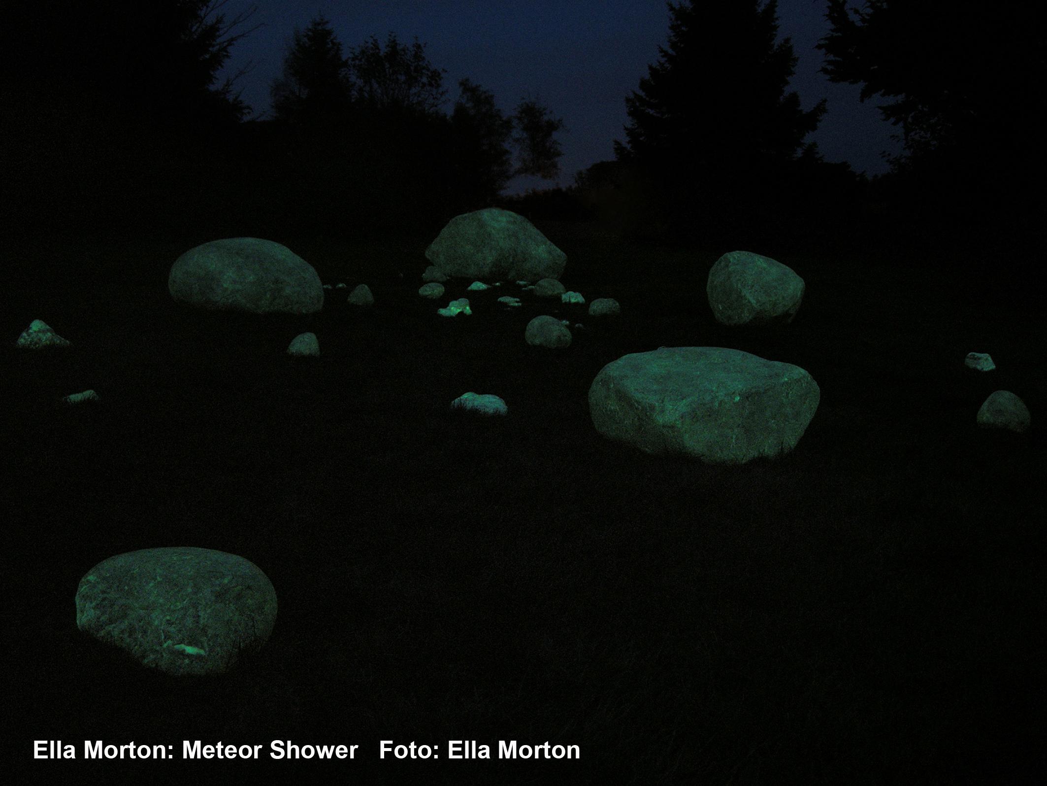 meteor shower rgb