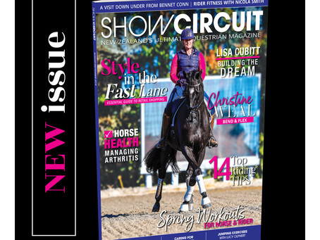 Our August/September issue of Show Circuit Magazine is now on sale.