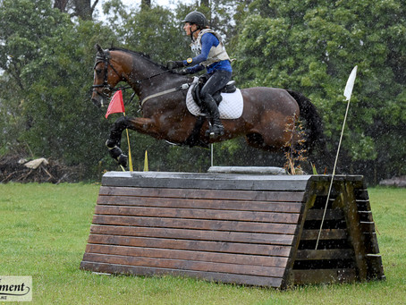 Hardy Eventers Brave Tough Conditions