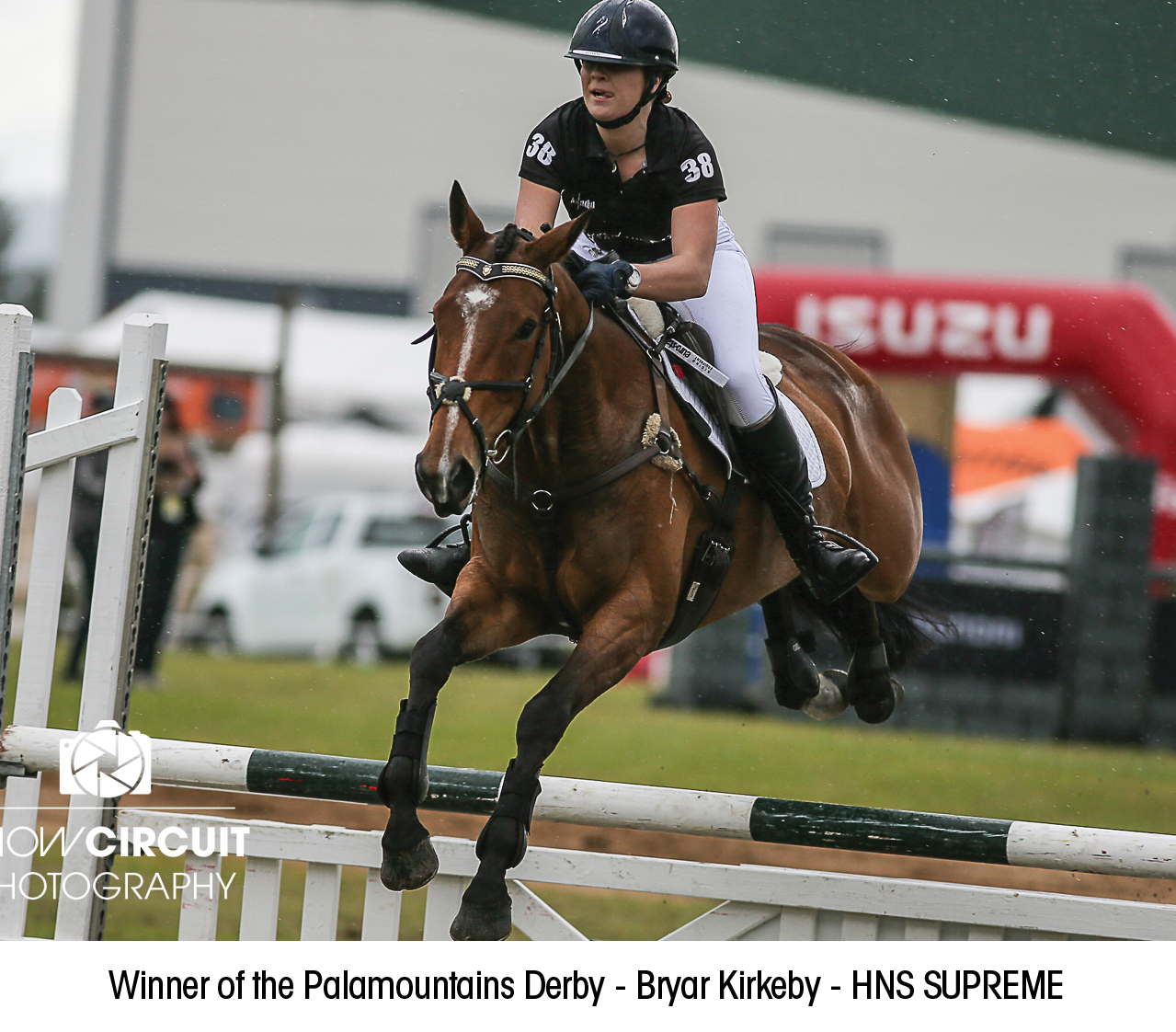 Winner of the Palamountains Derby - Bryar Kirkeby - HNS SUPREME