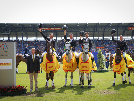 New Zealand take the team victory for eventing at Chio Aachen 2018!