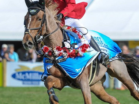 History-Maker Briar Wins Olympic Cup