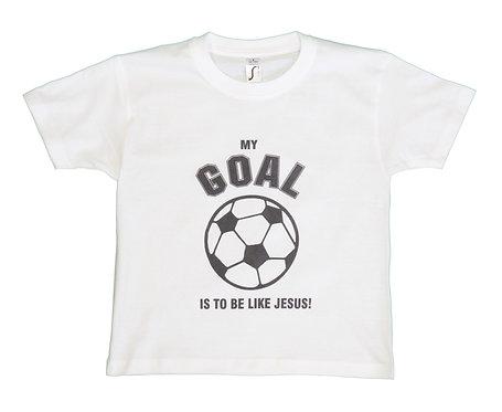 Kid's T Goal White