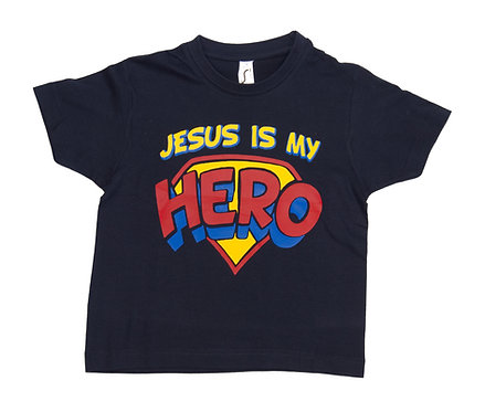 Kid's T Hero Dark Blue