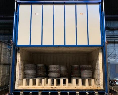 Horno a gas para tratamientos térmicos con cumplimiento CQI-9